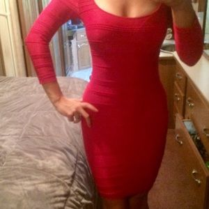 BeBe Midi BodyCon Dress